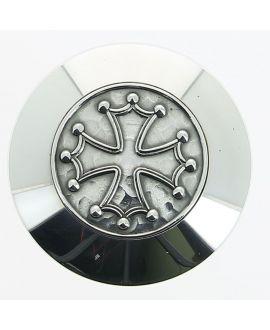 Milord argenté Croix occitane