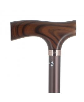 Brown with maple crutch handle