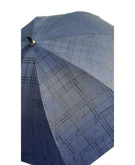 Adjustable umbrella-stick navy blue