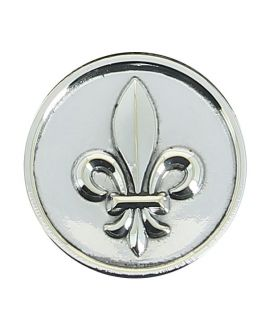silver plated Lys flower