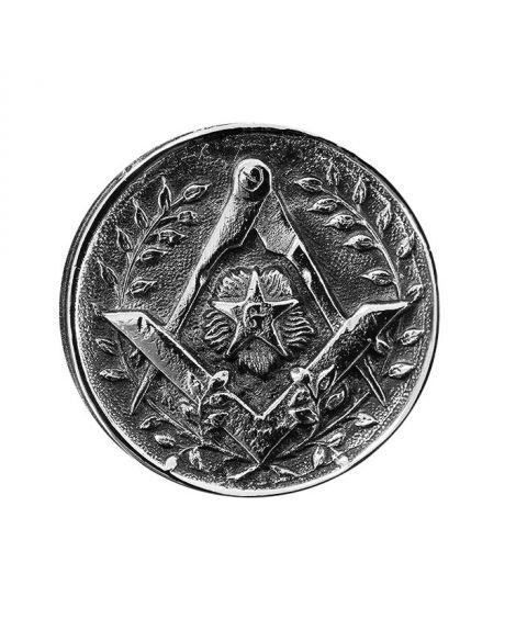 Canne épée - pommeau milord en métal argenté