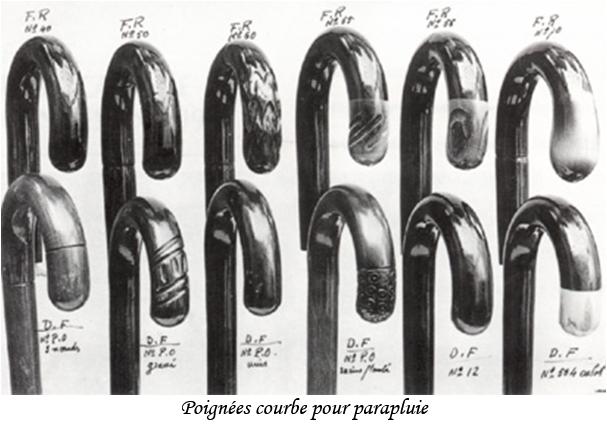 poignees courbes